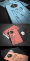Zigzag Business Card by glenngoh