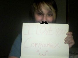 CompoundX fansign by kuroineko99
