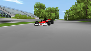 Racing game project screenshot by Ratmanxx