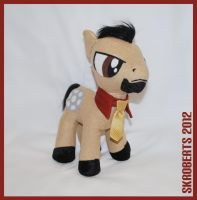 Pony Stark Plush - 2 of 5 by s-k-roberts
