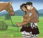 Levi and Eponee (Trade) by same-clone