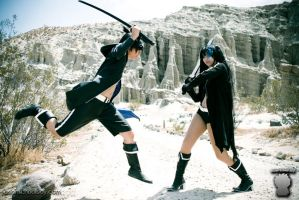 Black Rock Shooter Attack by Akusesu