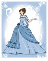 Hermione at the Yule Ball 2 by Kamame