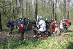 Battle on a forest road by TrogvarZT