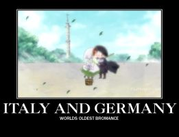 Italy x Germany by AViDDrawer
