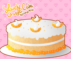 Lovely Orange Cake by Annortha