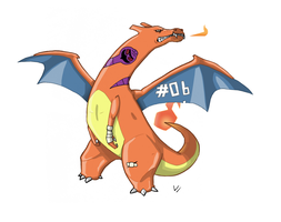 Charizard is bad ass by SurturFlamingo