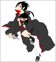 Itachi and Me by Angel434