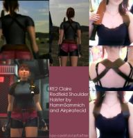 Resident Evil 2 Claire Redfield's Shoulder Holster by Hamm-Sammich