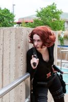 Cautious - Black Widow - Otakon 2013 by katyanoctis