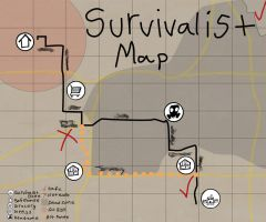 Survivalist Map by MegLynn92