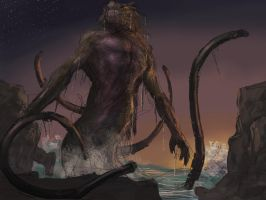 Kraken rough 3 by LozanoX
