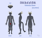 Arkenar reference sheet  (updatable) by IceDragon94