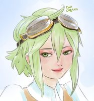 GUMI sketch by LizUsui