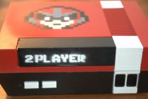 Custom NES with Protoman by 8bitties