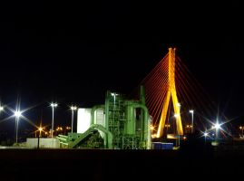Scrap and Cable stayed Bridge by dxcGareyt