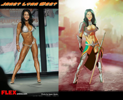 Fitness Warriior Janet Lynn West Warrior By Ulics by zenx007