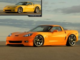 Chevrolet-Corvette-C6-Z06 by Dj-HeAt
