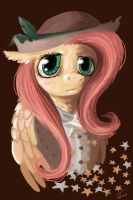 Deputy Fluttershy by Fyrecalla