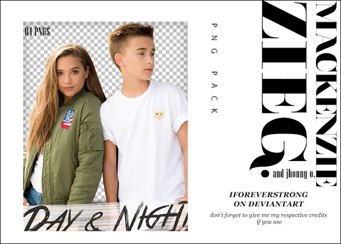 Pack Png 037//Mackenzie Ziegler  Day And Night by iForeverStrong