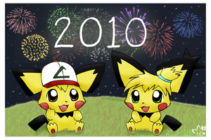 Happy New 2010 by pichu90