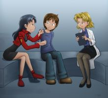 Sort of Evangelion AR part 1 by The-Padded-Room