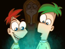 .:Phineas and Ferb:. by WhiteBAG