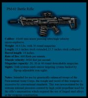PM-61 Battle Rifle by Andared