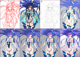 Tsubasa Step By Step by Zeolch