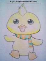 Chibi Duck by firagare