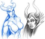 Maleficent Weeps by yomark