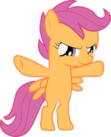 Scootaloo - Standaloo by Creshosk