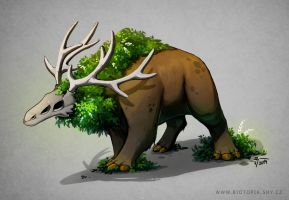 Forest Beast by jrtracey