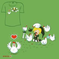 Woot Shirt - Revenge by fablefire