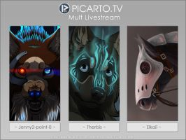 Picarto Multistream - ONLINE by Jenny2-point-0