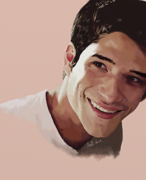 Comission for spookybibi: Tyler Posey by JoelsVoice