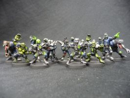 Necromantic Team Blood bowl by Solav