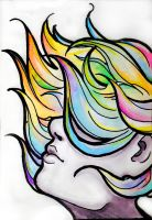 Hair Of Colors by Feuerpfoetchen
