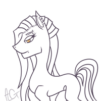Pony Lineart by ImTheDoctorWhovian