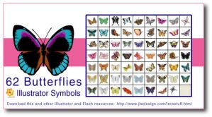 Angela's Butterfly Symbols by namespace