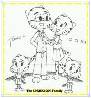 The Sparkson Family- TAWoG by DASimsTOON2012