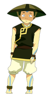 Earthbender Aang (Colour) by Blaidd-Drwg