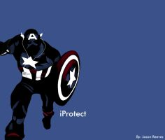 Captain America by pippin1178