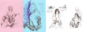 Old sketches by vivean2005