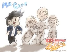 Mr. Coat and the Bad News Bears by TSH678