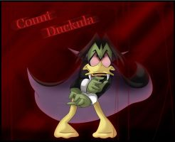 Count Duckula by Lakenight