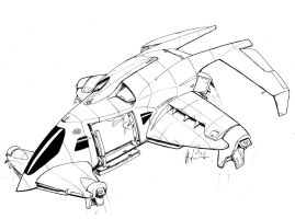 NH Caduceus Cruiser VTOL by Jepray