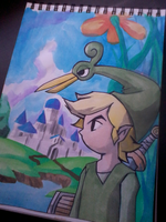Legend of Zelda - The Minish cap by BrunoSantos96