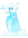 Ice Queen by eye-drool
