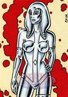 Jocasta Sketch Card by ElainePerna
